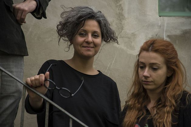 Alessandra Calò e Roberta Aureli, photo Natascia Giulivi