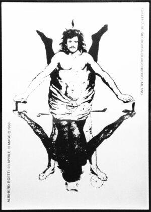 Alighiero Boetti, Shaman (Showman), 1968. Collezione Colombo, Milano. Photo Giorgio Colombo, Milano
