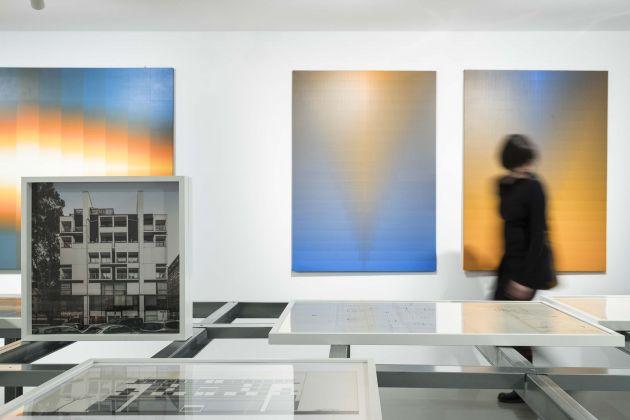 Almanacco 70. Architettura e astrazione. Exhibition view at Galleria Civica, Trento 2017
