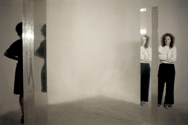 Amalia Del Ponte, Area percettiva (installation view), 1973, opera vincitrice del Primo Premio per la Scultura alla Biennale di San Paolo