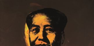 Andy Warhol, Mao (1973, courtesy Sotheby's Hong Kong)