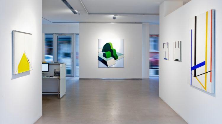 Architetture, Poeticamente, curated by Bruno Corà, installation views, Cortesi Gallery Lugano, 2016. Photo by Ginevra Agliardi