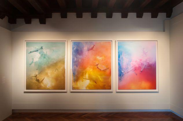 Aristocracy One, Aristocracy Two, Aristocracy Three, 2014 © David LaChapelle, Casa dei Tre Oci, Venezia 2017, photo Irene Fanizza