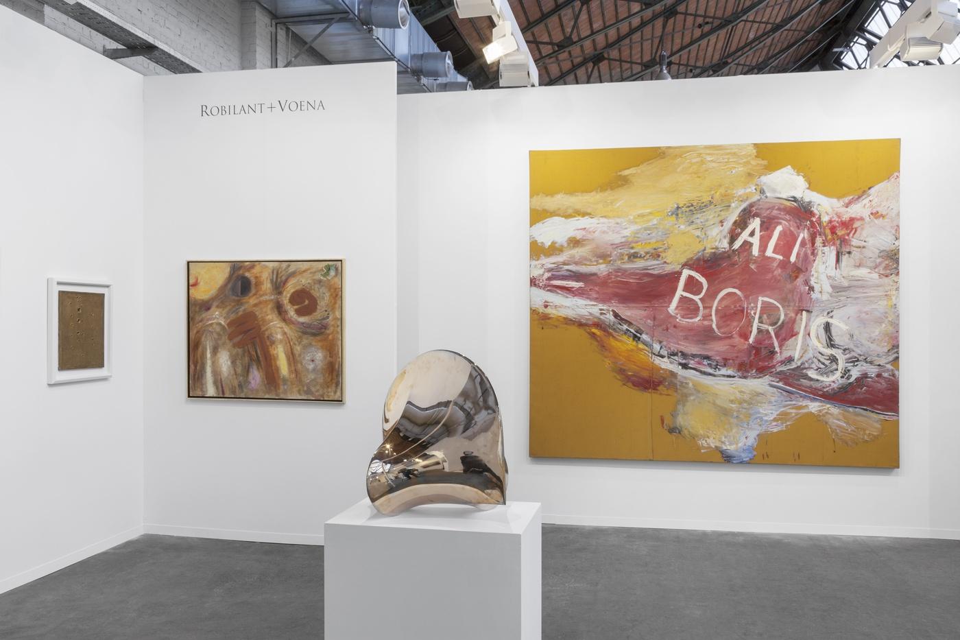 Art Brussels 2017 - lo stand di Axel Vervoordt