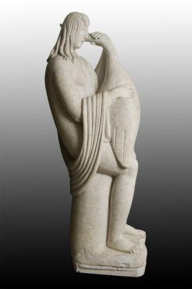 Arturo Martini, Leda con il cigno, 1926, gesso. Monza, Musei Civici