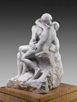 Auguste Rodin, Le Baiser, 1881-82. Parigi, Musée Rodin © Musée Rodin. Photo Hervé Lewandowski