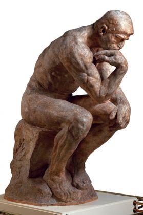 Auguste Rodin, Le Penseur, grand modèle, SNBA, 1904. Parigi, Musée Rodin © Musée Rodin. Photo Christian Baraja