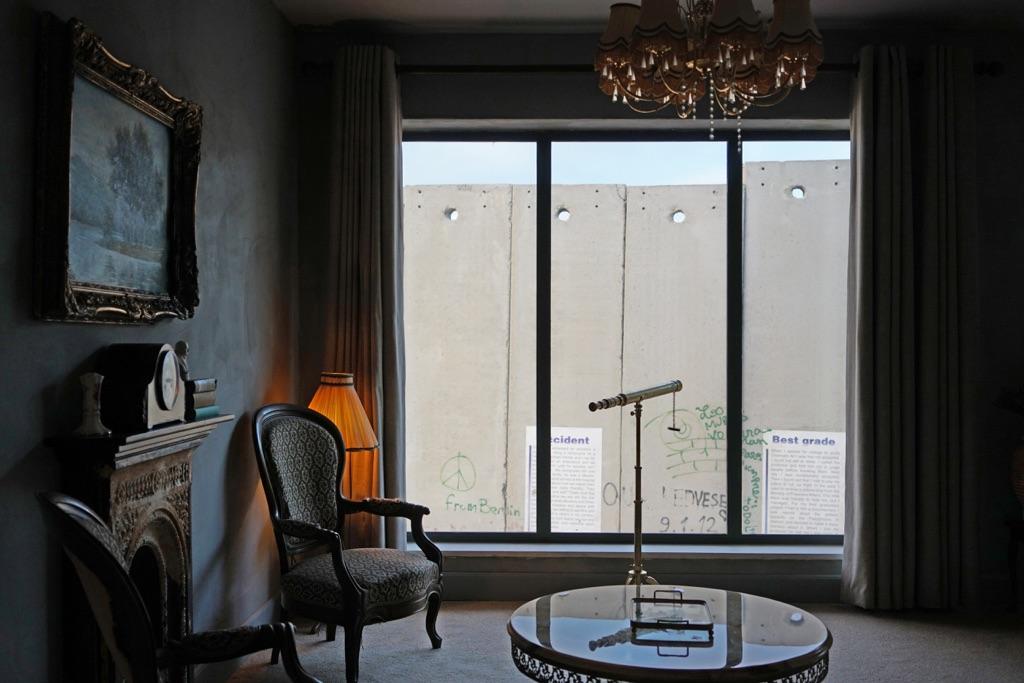 Banksy, Walled Off Hotel. Credits www.walledoffhotel.com