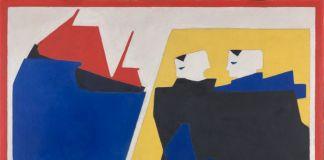 Bart Van Der Leck, La tempesta, 1916