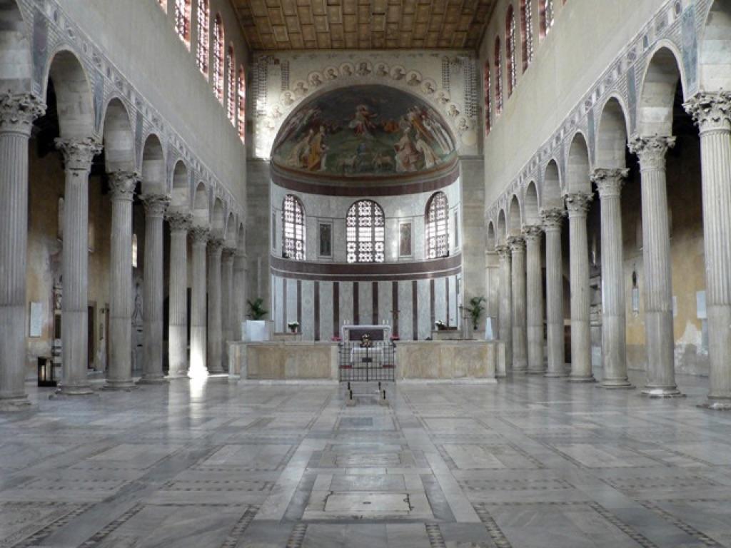 Basilica di Santa Sabina, Roma, V secolo