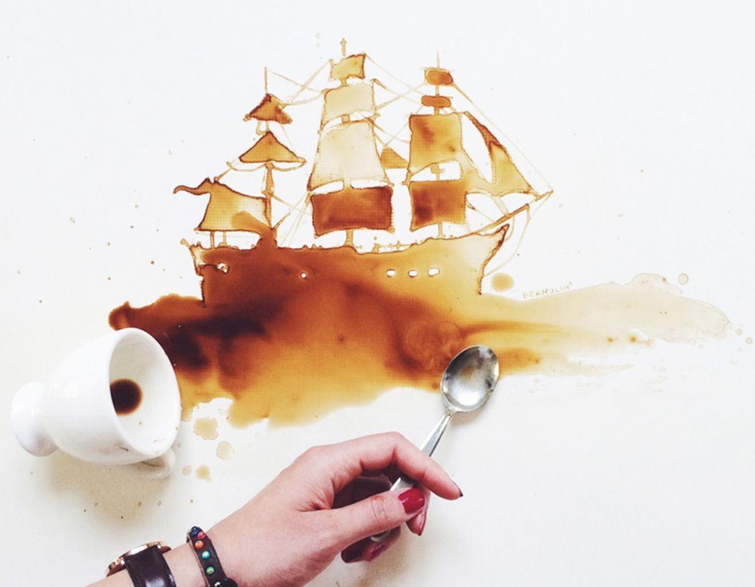 Bernulia, l'artista del caffè