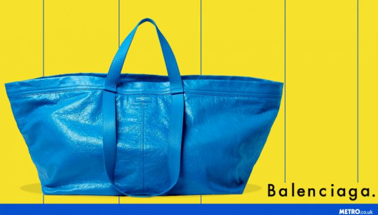 Balenciaga come Ikea - picture by metro.co.uk