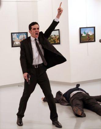 Burhan Ozbilici, An Assassination in Turkey © Burhan Ozbilici, The Associated Press