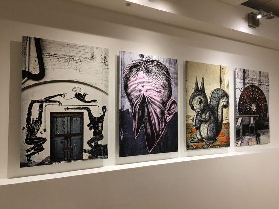 Carlo Vannini. Reggiane. Exhibition view at Vicolo Folletto Art Factories, Reggio Emilia 2017