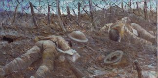 Christopher Richard Wynne Nevinson, Paths Of Glory, 1917 © IWM