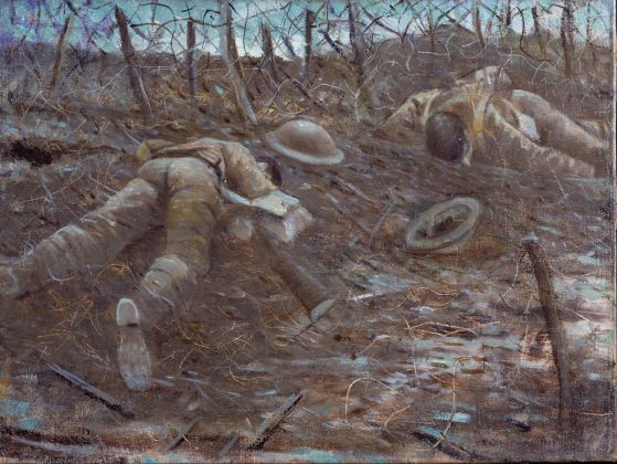 Christopher Richard Wynne Nevinson, Paths Of Glory, 1917 © IWM