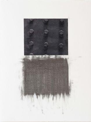Claudia Peill, Senza titolo, 2015, collage e grafite su carta, 41x31 cm