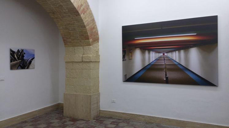 Cristian Castelnuovo. BLU. Exhibition view at Galleria Macca, Cagliari 2017. Photo Elisabetta Masala