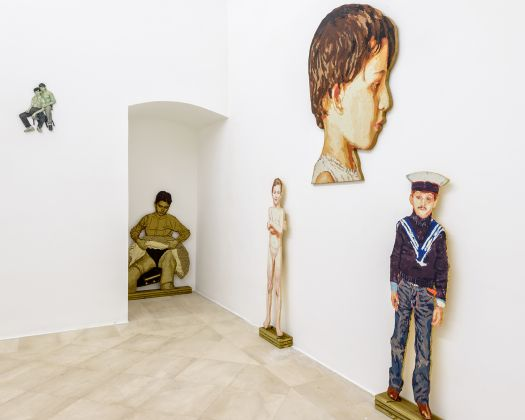 Cristiano de Gaetano. Speed of Life. Exhibition view at Fondazione Museo Pino Pascali, Polignano a Mare 2017. Photo © 2017 Marino Colucci-Sfera