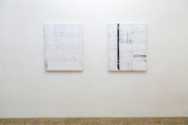Daniel Davies. Cloud Illusions. Installation view at Acappella Gallery, Napoli 2017. © Danilo Donzelli Photography