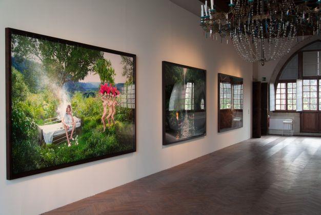 David LaChapelle Lost + Found, exhibition view at Casa dei Tre Oci, Venezia 2017, photo Irene Fanizza