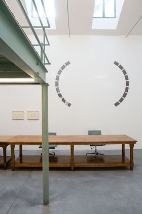 David Tremlett allo Studio Cipelletti © Henrik Blomqvist
