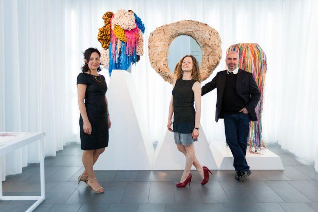 Deborah Carè, direttore FEC, Sissi e Marcello Smarrelli – foto Ela Bialkowska, Okno Studio