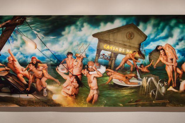 Deluge, 2006 © David LaChapelle, Casa dei Tre Oci, Venezia 2017, photo Irene Fanizza