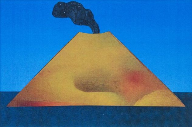 Diego Sarra, Isola-Vulcano, 1981