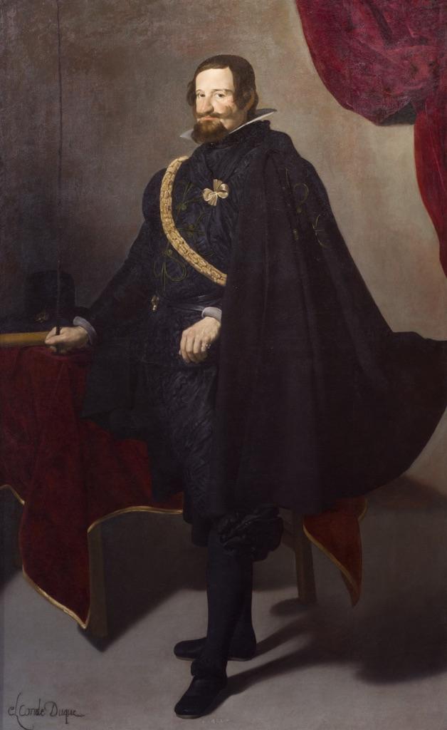 Diego Velázquez, Ritratto del Duca di Olivares