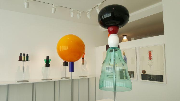 Ettore Sottsass il vetro, exhibition view at Le Stanze del Vetro, Venezia 2017