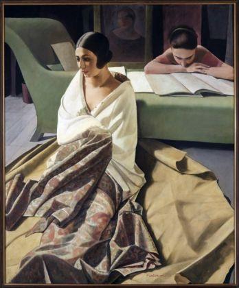 Felice Casorati, Raja, 1924-25, tempera su tavola. Collezione privata
