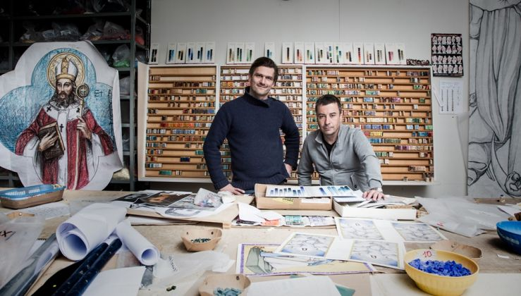 Felix Muhrhofer and Fabrizio Travisanutto -® Laila Pozzo per Doppia Firma