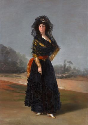 Francisco de Goya, La Duchessa d'Alba, 1979. Courtesy The Hispanic Society