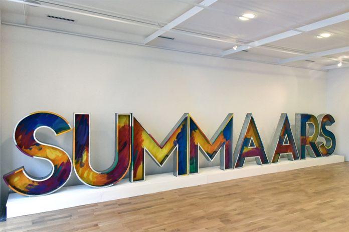 Franco Summa. Summars. Installation view at Bag Gallery, Parma 2017