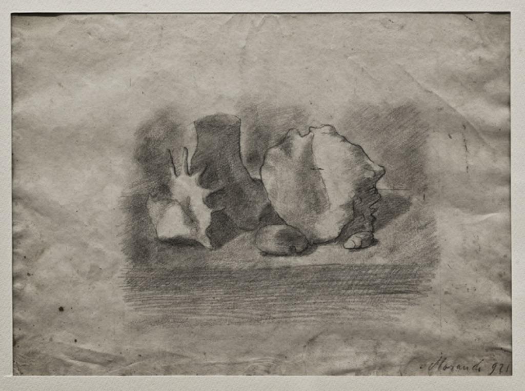 Giorgio Morandi, Natura morta, 1921. Firenze, Fondazione Spadolini Nuova Antologia