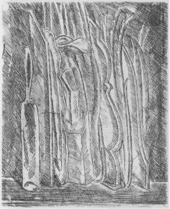 Giorgio Morandi, Natura morta con brocca e bottiglia, 1915. Roma, Galleria Nazionale d'Arte Moderna e Contemporanea
