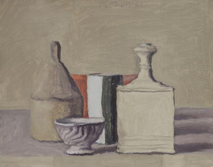 Giorgio Morandi, una tela esposta ad Artipelag, Gustavsberg (Stoccolma), per Edmund de Waal Giorgio Morandi, 2017