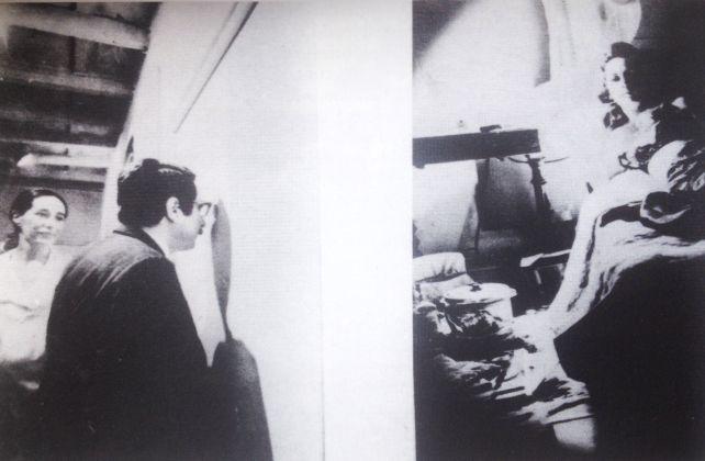 Giosetta Fioroni, La spia ottica, Teatro delle mostre, maggio 1968