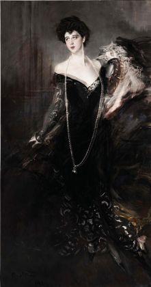 Giovanni Boldini, Donna Franca Florio, sovrapposizione tra le versioni del 1901 e del 1924