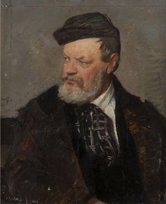 Giovanni Boldini, Ritratto del padre Antonio Boldini, 1867. Collezione privata, Ferrara