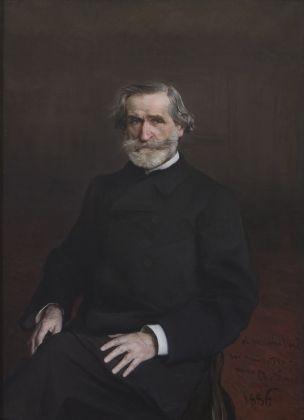 Giovanni Boldini, Ritratto di Giuseppe Verdi seduto, 1886. Casa di Riposo per Musicisti-Fondazione Giuseppe Verdi