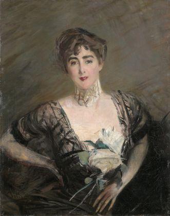 Giovanni Boldini, Ritratto di Josefina Alvear de Errazuriz, 1892. Collezione Valter e Paola Mainetti