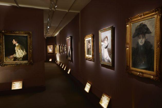 Giovanni Boldini. Exhibition view at Complesso del Vittoriano, Roma 2017