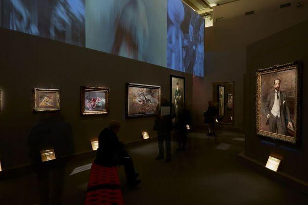 Giovanni Boldini. Installation view at Complesso del Vittoriano, Roma 2017