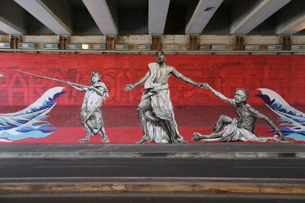 GraArt, Roma, 2017. David Diavù Vecchiato