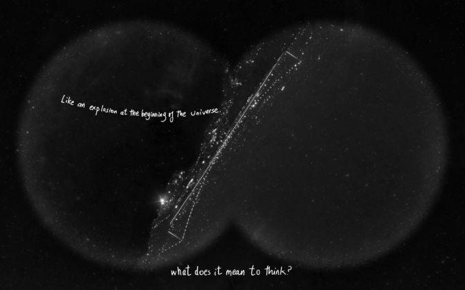 Grazia Toderi & Orhan Pamuk, Words and Stars (Monologo), 2013-17