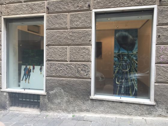 Guidi & Schoen, le vetrine della nuova sede a Genova