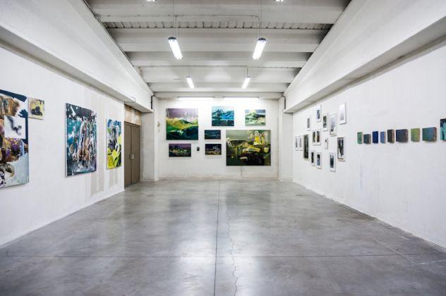 Haiku. Installation view at Boccanera Gallery, Trento 2017