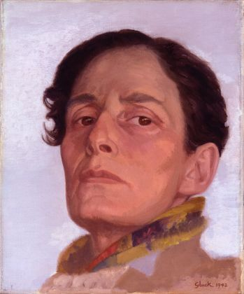 Hannah Gluckstein, Gluck, 1942. Olio su tela, 30,6 x 25,4 cm. © National Portrait Gallery, courtesy Tate